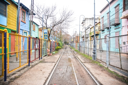 Railway in Buenos Aires