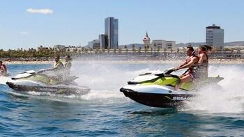 Sea Front Explorer: Jet Ski & Bike