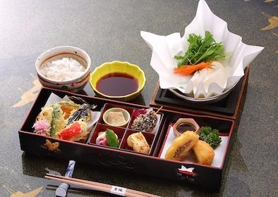 Japanese meal in Japan