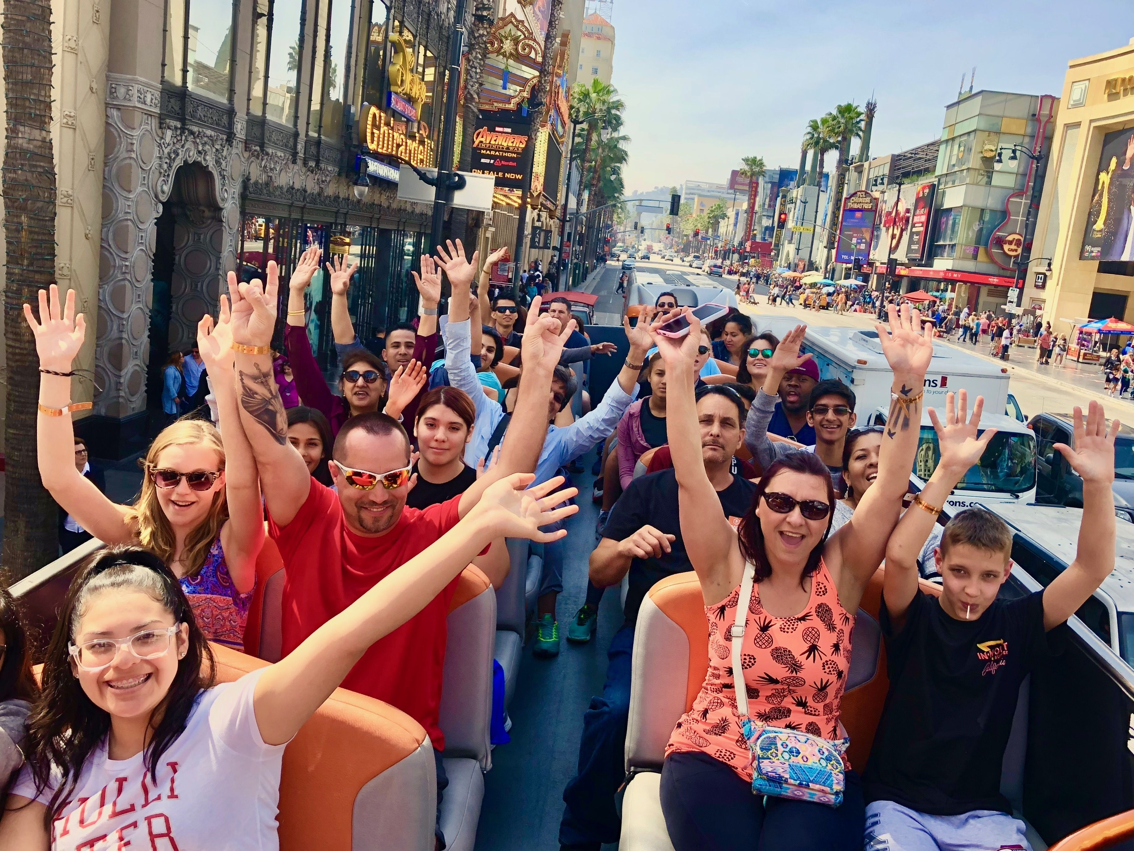 Hop-On Hop-Off Los Angeles -Hollywood, Beverly Hills & More.