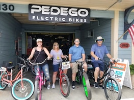 All day Electric Bike Ride along the coast!