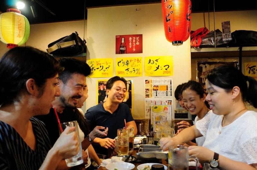 Show item 3 of 8. Group happy hour at a Japanese izakaya-style eatery