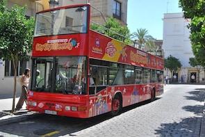 Busstur med hop-on/hop-off i Jerez