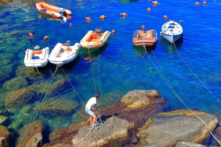 Show item 4 of 8. Authentic Cinque Terre Guided Tour with Wine Tasting