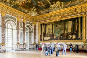 Combinatieticket: toegang zonder wachtrij tot Versailles en 1-daagse hop-on...