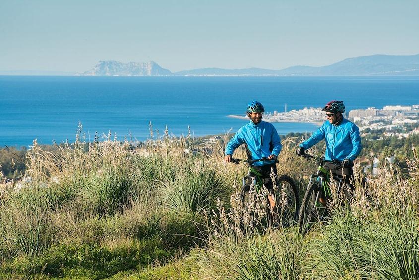 Show item 1 of 8. E-Mountain Bike Explorer Tour from Marbella to Sierra Blanca