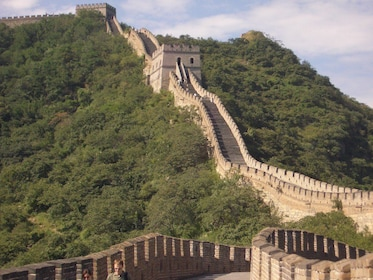 Landscape views of the Great Wall of China