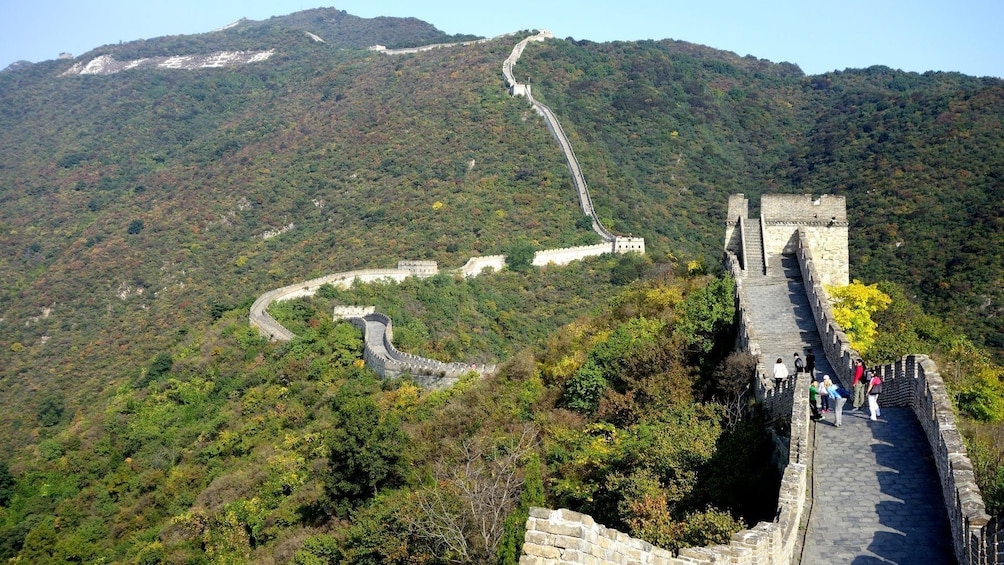 Show item 4 of 9. Great Wall of China at day time