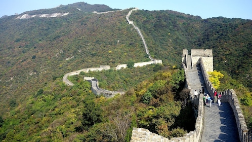 Great Wall of China at day time