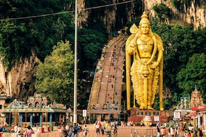 Batu Caves, Waterfalls & Hotsprings Private Tour