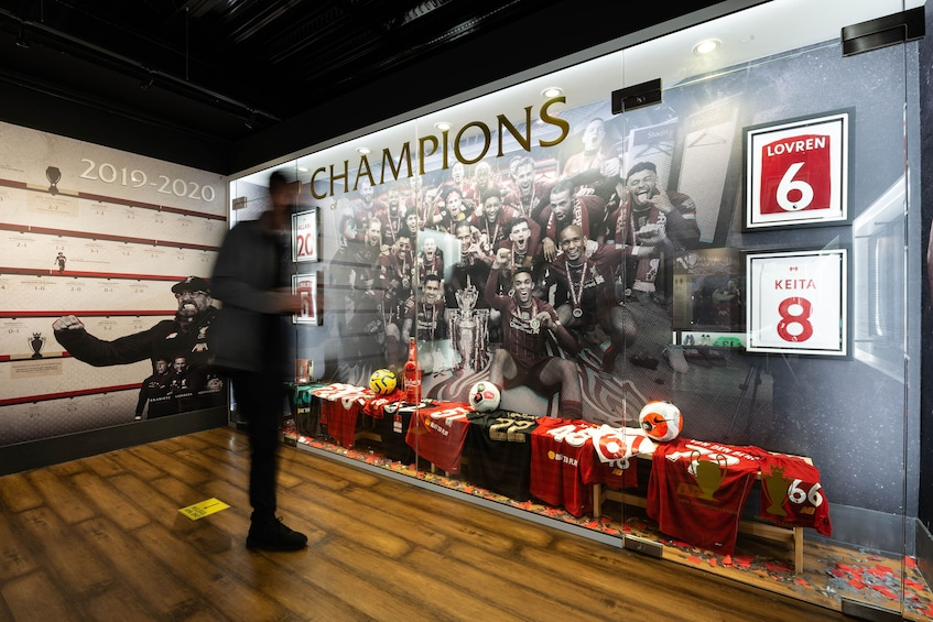 Foto 4 van 10. Liverpool Football Club Stadium Tour & Museum