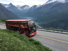 Shore Excursion: Geiranger Hop-On Hop-Off Bus Tour