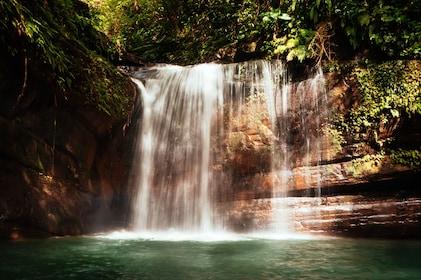Day view of the Shifen Waterfall in Pingxi District, New Taipei City, Taiwan