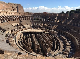 Skip-the-line Ancient Rome Tour: Colosseum Underground, Arena & Forum