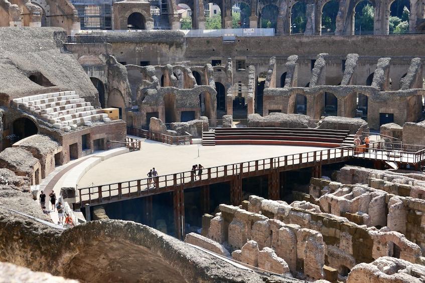 正在顯示第 4 張相片,共 10 張。 Ancient Rome Tour: Colosseum Underground & Roman Forum