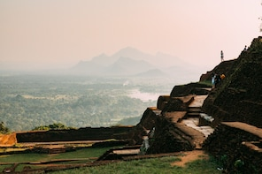 Private Day Trip Sigiriya Rock & Dambulla Caves