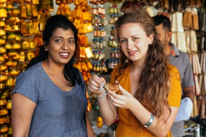 Women on a food tour in Sri Lanka