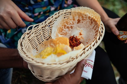 Basket of food in Colombo