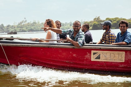 Boating group in Galle