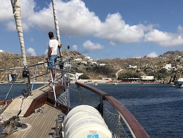 All-Included Sailing Cruise to South Coast, Rhenia & Delos