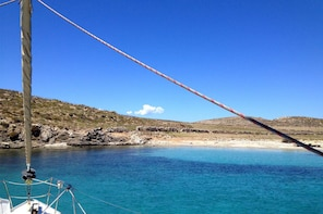 All-Included Sailing Cruise to South Coast, Rhenia & Delos