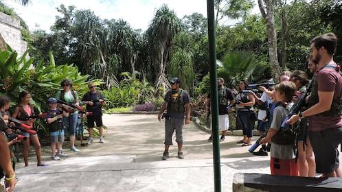 Mayan Laser Tag Adventure