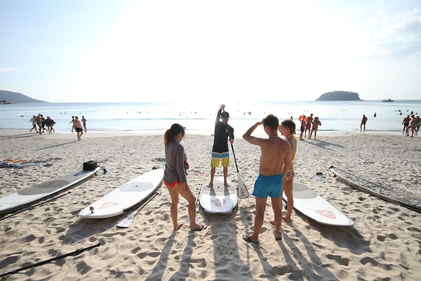 Phuket Stand Up Paddle, it's Easy, It's Fun, it's Fitness !