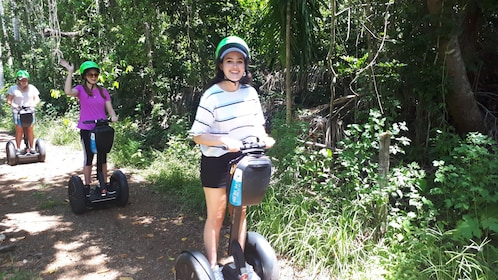 Women on segways at Conway National Park