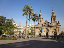 Private Full-Day City Tour of Santiago & Wine Experience