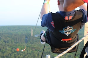 Zipline off the Rooftop of Foxwoods Resort Casino