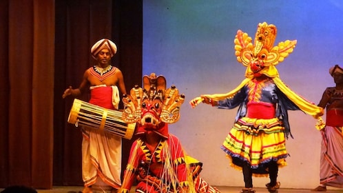 Cultural show at the Kandy center in Sri Lanka