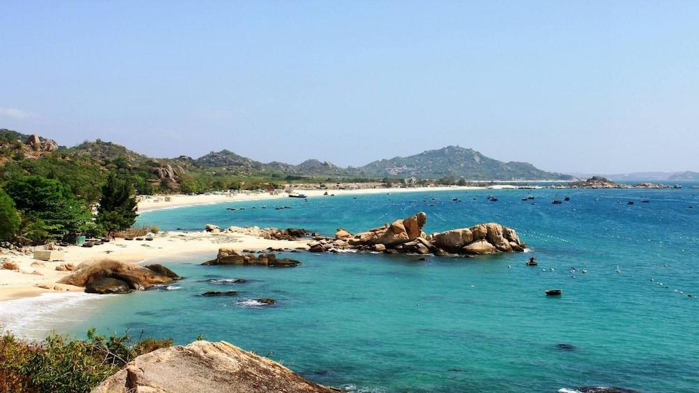Beach off the coast of Nha Trang
