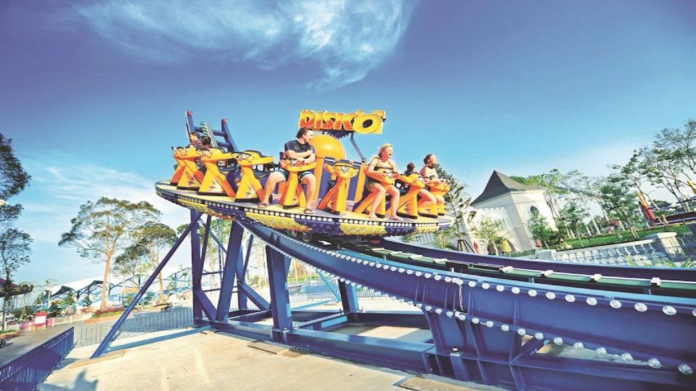 Show item 5 of 10. Disk'o ride at Vinpearl Land Amusement Park in Nha Trang, Vietname