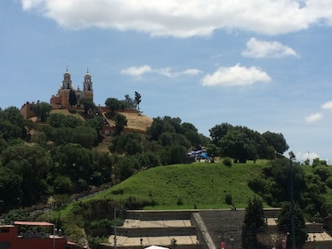 Landscape day view in this city of Cholula, Puebla