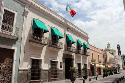 Apartments and buildings in Cholula, Puebla