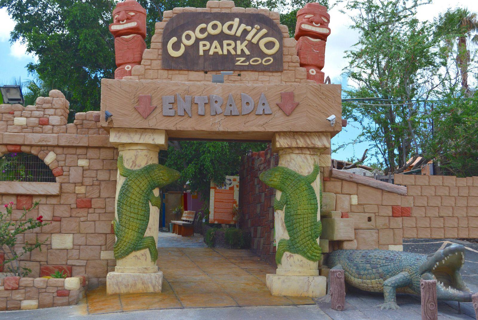 Billet til den zoologiske have Cocodrilo Park i Agüimes
