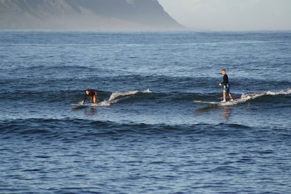 Surfers in Haleiwa