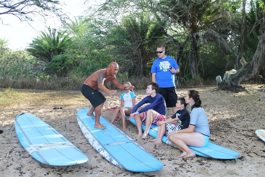 Haleiwa group surf lesson