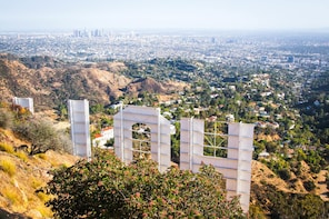 Private Hollywood Sign Adventure Hike - Closest View
