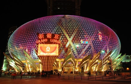 Macau casino at night
