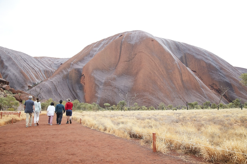 2 Half-Day Uluru & Kata Tjuta Tours with Ochre Pass