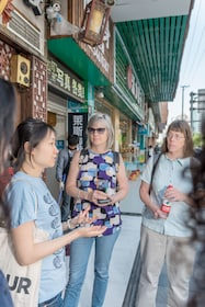 Group food tour in Shanghai