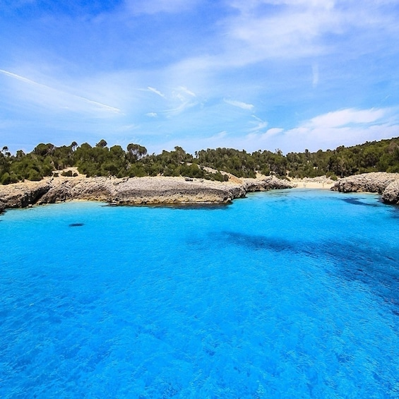 Show item 2 of 8. Turquoise waters off the coast of Menorca
