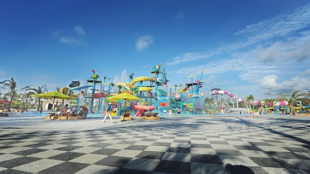 Vinpearl Land amusement park in  Phú Quốc