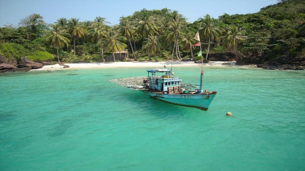 Boat on Phu Quoc Island