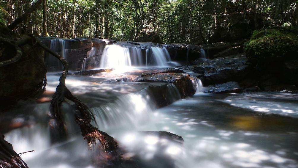 Da Ban Waterfall on Phu Quoc Island in Vietnam