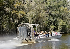 Airboat Adventures: Airboat Swamp Tour