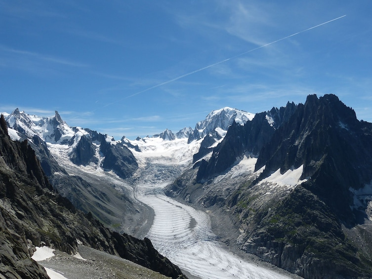 Show item 1 of 9. The Ice Sea in Chamonix