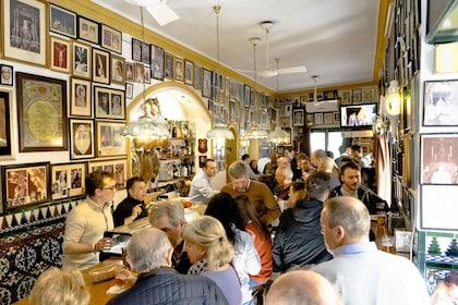 View inside a tapas bar in Sevilla