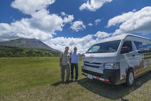Shuttle from San Jose to La Fortuna with Poas Volcano Visit